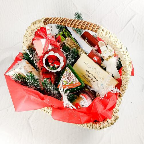 Подарочная корзина Новогодняя роскошь