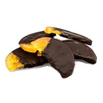 Апельсиновые дольки в темном шоколаде