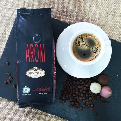 Кофе в зернах Аром