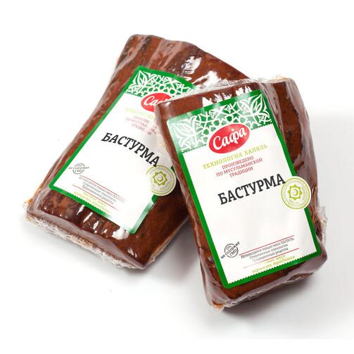 Бастурма Сафа халяль в вакуумной упаковке