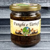 Крем из грибов с черным  трюфелем