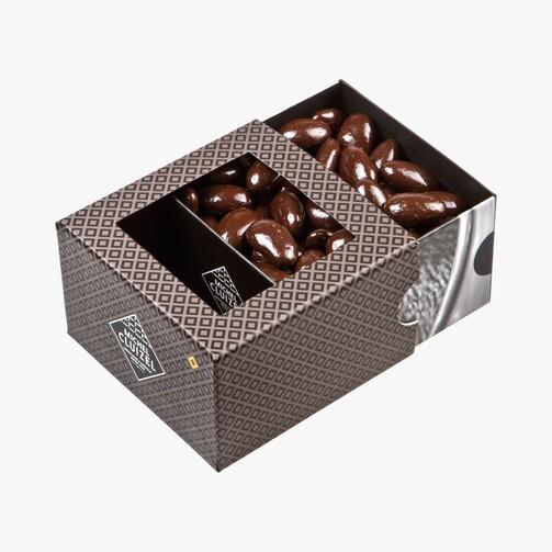 Драже миндаль в карамели и темном шоколаде  (арт. 14110)