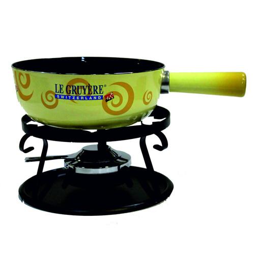 Фондюшница Грюйер (Le Gryere) стальная с горелкой