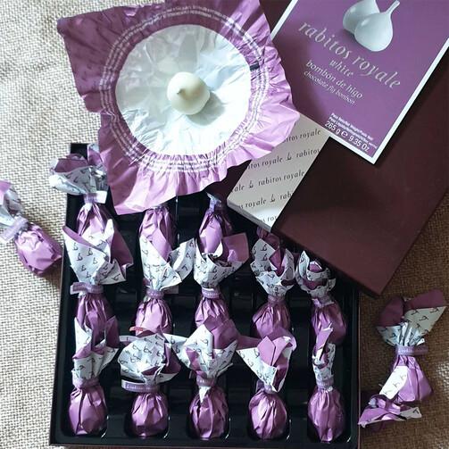 Инжир в белом шоколаде Рабитос Рояль №15