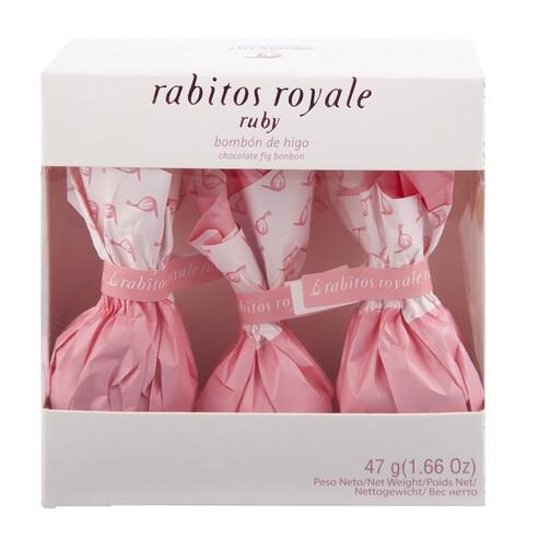 Инжир в рубиновом шоколаде Rabitos Royale