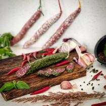 Колбаса Фуэт в средиземноморских травах