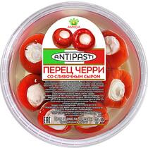 Красный сладкий перец Черри со сливочным сыром в оливковом масле