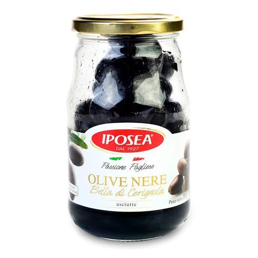 Маслины черные Белла Чериньола  (арт. ЕРХ-0821)