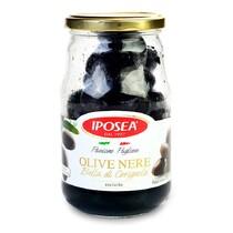 Маслины черные Белла Чериньола