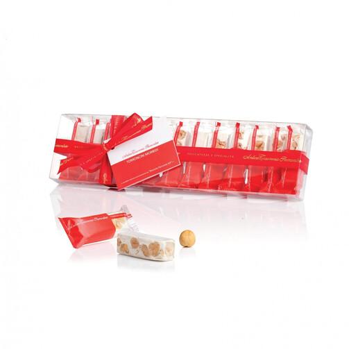 Мини туррон из нуги с Пьемонтским орехом в подарочной упаковке