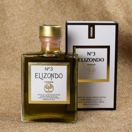 Оливковое масло Elizondo Extra Virgin Premium №3, 200 мл