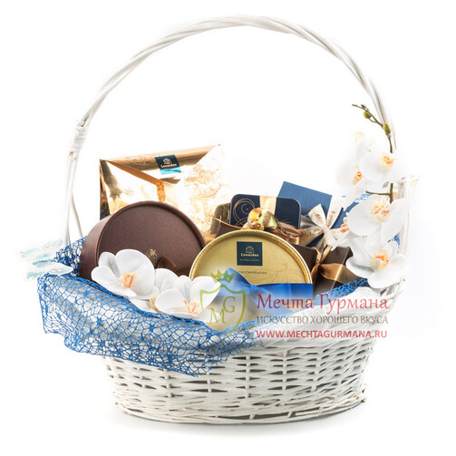 Подарочная корзина Королевский шоколад 1
